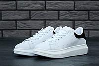 Кроссовки Alexander McQueen Oversized Sneakers реплика ААА+ (натуральная кожа) р. 36-44 белый (живые фото)