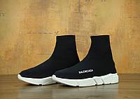 Кроссовки Balenciaga Speed Trainer реплика ААА+ размер 37-39,41-45 черный