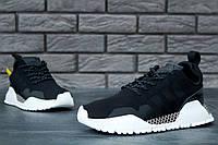 Кроссовки Adidas AF 1.4 Primeknit реплика ААА+, размер 44 черный