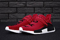 Кроссовки Adidas x Pharrell Williams Human Race NMD реплика ААА+, размер 41-45 красный, фото 1