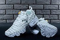 Кроссовки женские Vetements & Reebok InstaPump Fury реплика ААА+ размер 36-40 белый (живые фото), фото 1