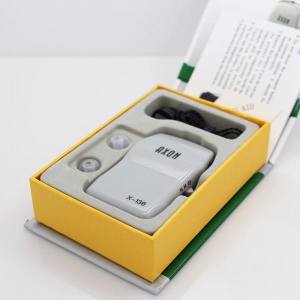 Карманный слуховой аппарат Axon X-136