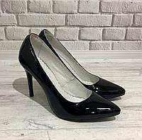 Туфли женские лаковые на шпильке Bogun, фото 1