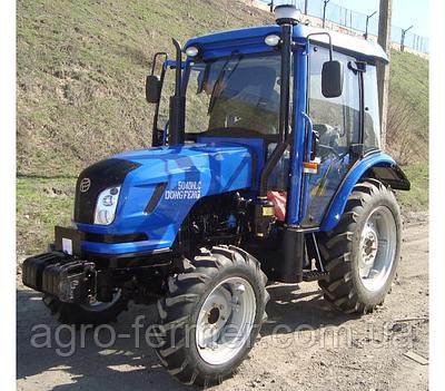 Трактор Donfeng 504DHLC (50л.з., гідропідсилювач керма, комбінована приб. панель, сидіння з аморт.)