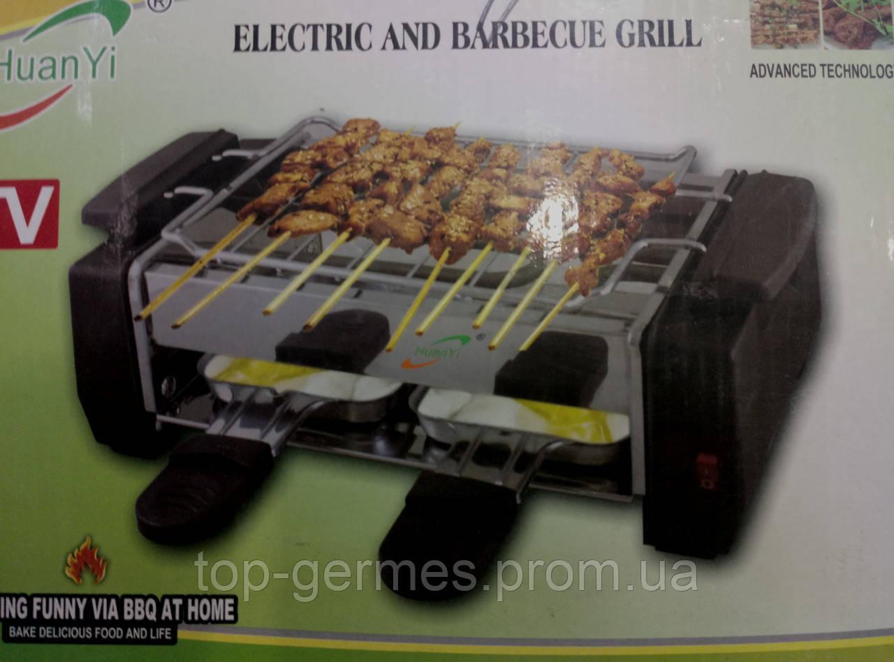 Электрический гриль-барбекю