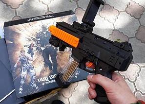 Автомат віртуальної реальності AR Gun Game, пістолет DZ-822, віртуальна реальність, автомат для смартфона, фото 3