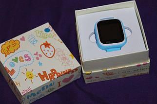 Дитячі смарт-годинник Q80 з GPS трекером. Smart Watch дитячі розумні годинник синні, розумні годинник дитячі, фото 2