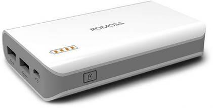 Power Bank Romoss 50000 mAh 2USB High Copy / Павер Банк + 3 подарка, фото 3