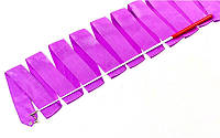 Лента для художественной гимнастики l-6м C-5516 ,фиолетовая