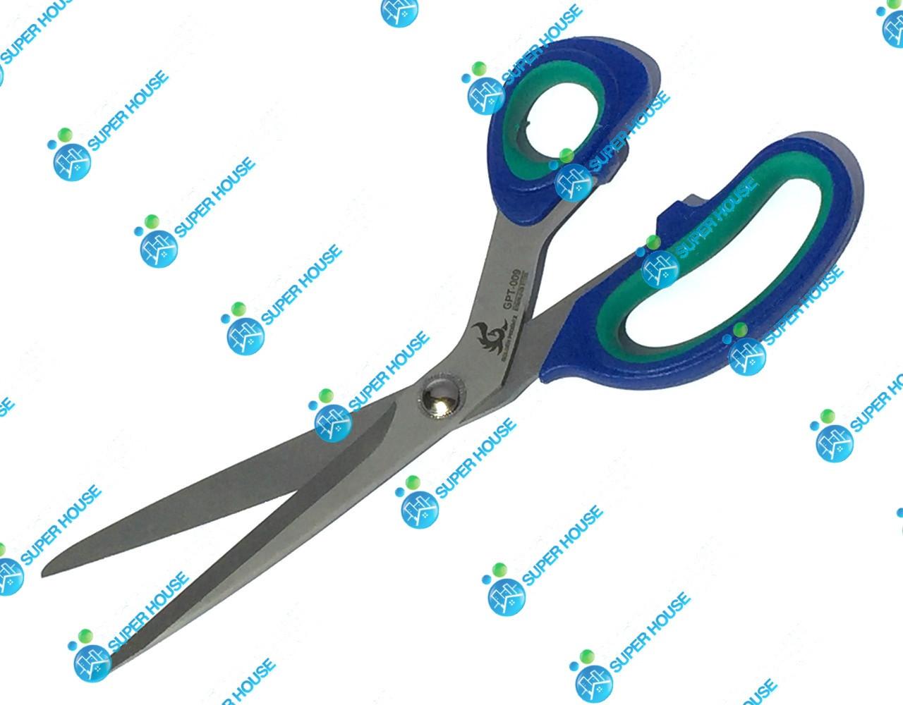 Ножницы Golden Phoenix универсальные 250мм Синий+Зелёный пластик