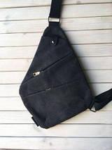 Чоловіча сумка Cross Body / Сумка Месенджер (сірий), фото 3