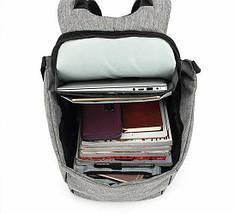 Городской рюкзак Bobby антивор с системой usb-зарядки (бобби рюкзак для ноутбук), фото 3