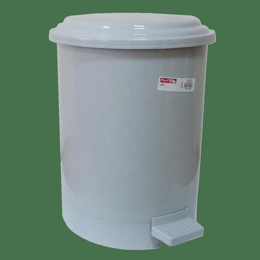 Ведро для мусора с педалью Irak Plastik №3 19,5л серое