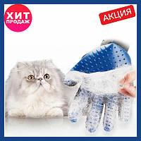 Перчатка True Touch для удаления шерсти животных