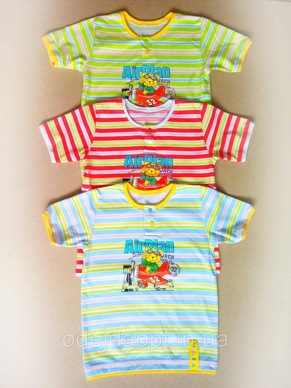 Детская футболка для мальчика с накатом