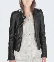Молодежная куртка Zara на молнии