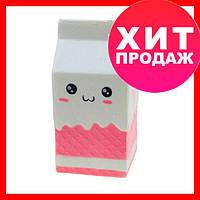 Squishy Коробка молока большая 11,5см игрушка для детей, сквиш-игрушка