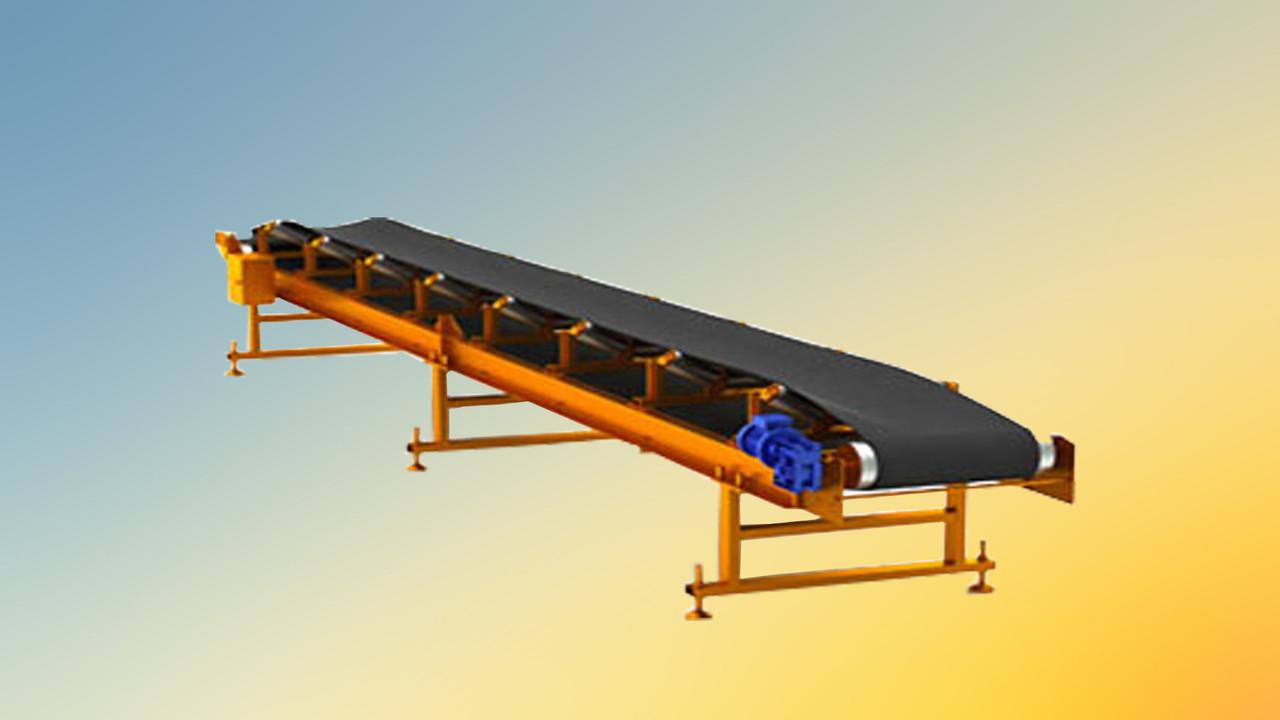 Ленточный конвейер шириной ленты 500 мм, длиной 2 м