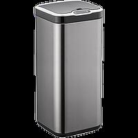 Сенсорное мусорное ведро JAH 25 л квадратное черный металлик без внутреннего ведра