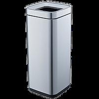 Ведро для мусора JAH 30 л металлик без крышки и внутреннего ведра, фото 1
