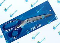 """Ножницы TIGER для кроя/универсальные 250мм 10"""" Синие"""