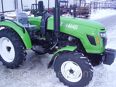 Трактор DW 404DR (4 цил, 7,50-16/11,2-24, КПП(8+8), 2ух дискове зчеплення)