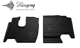 Резиновые коврики в салон Mercedes-Benz Atego 2005- (2 шт) Stingray 1040022