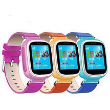 Акция. Детские часы Q80 с GPS трекером. + подарок Smart Watch  детские смарт ватч розовые для девочки, фото 2