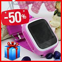 Акция. Детские часы Smart WatQ80 с GPS трекером. + подарок. детские смарт вотч розовые для девочки