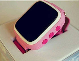 Детские часы Smart WatQ80 с GPS + подарок. детские смарт вотч розовые. Распродажа, фото 2