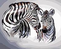 Художественный творческий набор, картина по номерам Зебры, 50x40 см, «Art Story» (AS0432), фото 1