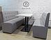 Комплект диваны и стол для кафе, клубов, ресторанов, фото 2