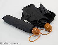 """Черный механический складной зонтик оптом от фирмы """"Susino""""., фото 1"""
