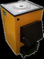 Котел на дровах и угле Буран-mini 14 кВт с плитой, фото 2