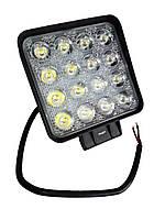 Дополнительные светодиодные противотуманные LED фары (1шт) 10-30V 29-48W SPOT дальнего света 110x110x65 LED-фары
