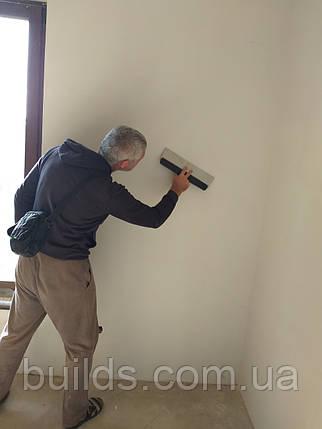 Шпаклёвка стен под покраску (с шлифовкой), фото 2