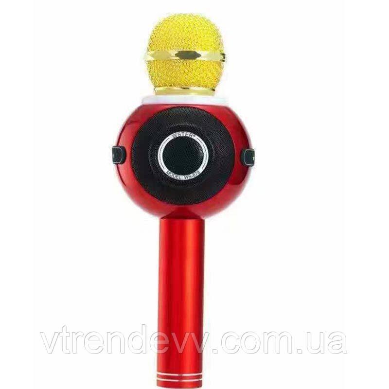 Микрофон-караоке bluetooth WSTER WS-878