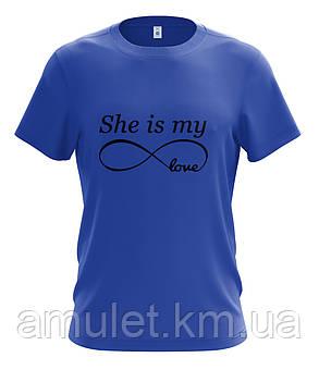 "Парні футболки ""Моя любов"", фото 2"