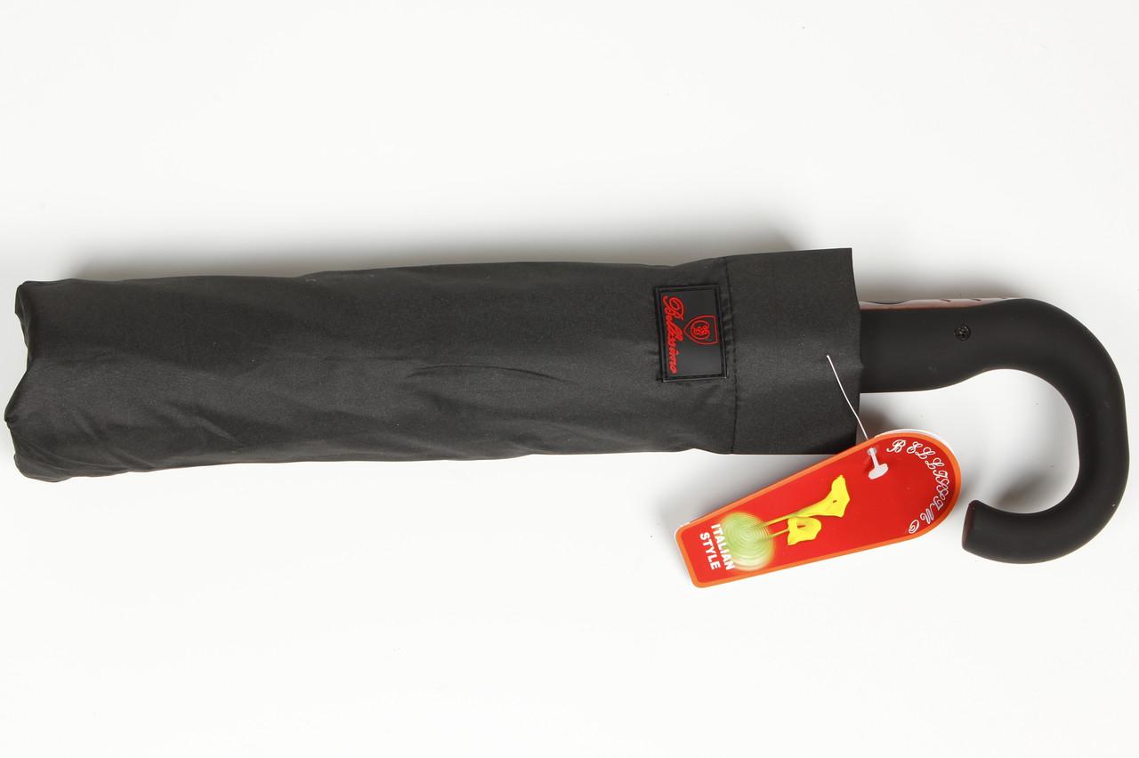 Зонт семейный мужской полуавтомат с крючком Bellisimo