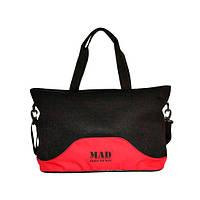 Стильная и современная женская спортивная сумка для фитнеса (фитнес сумка  LATTICE) красного цвета от 3f88184c834fd
