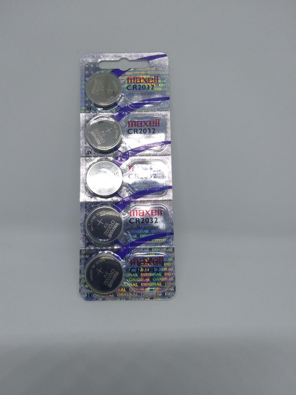 Часовая батарейка Maxell CR2032EU