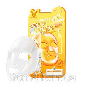 Витаминизированная тканевая маска Elizavecca Vita Deep Power Ringer Mask Pack