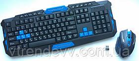 Клавиатура игровая и мышь беспроводная для ПК UKC НК-8100