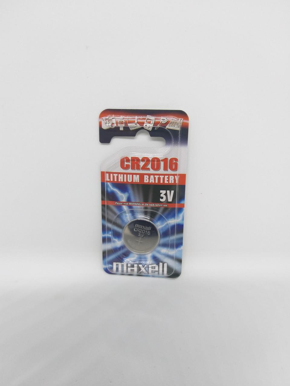 Часовая батарейка Maxell CR2016EU