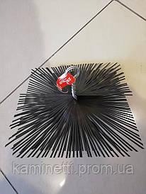 Ершик для чистки дымохода квадратный 350х350 мм. Италия.
