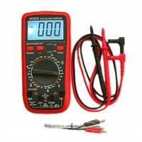 Мультиметр профессиональный цифровой VC 61-А тестер вольтметр с термопарой