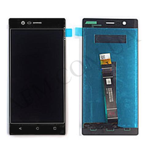 Дисплей (LCD) Nokia 3 Dual Sim с сенсором чёрный оригинал, фото 2