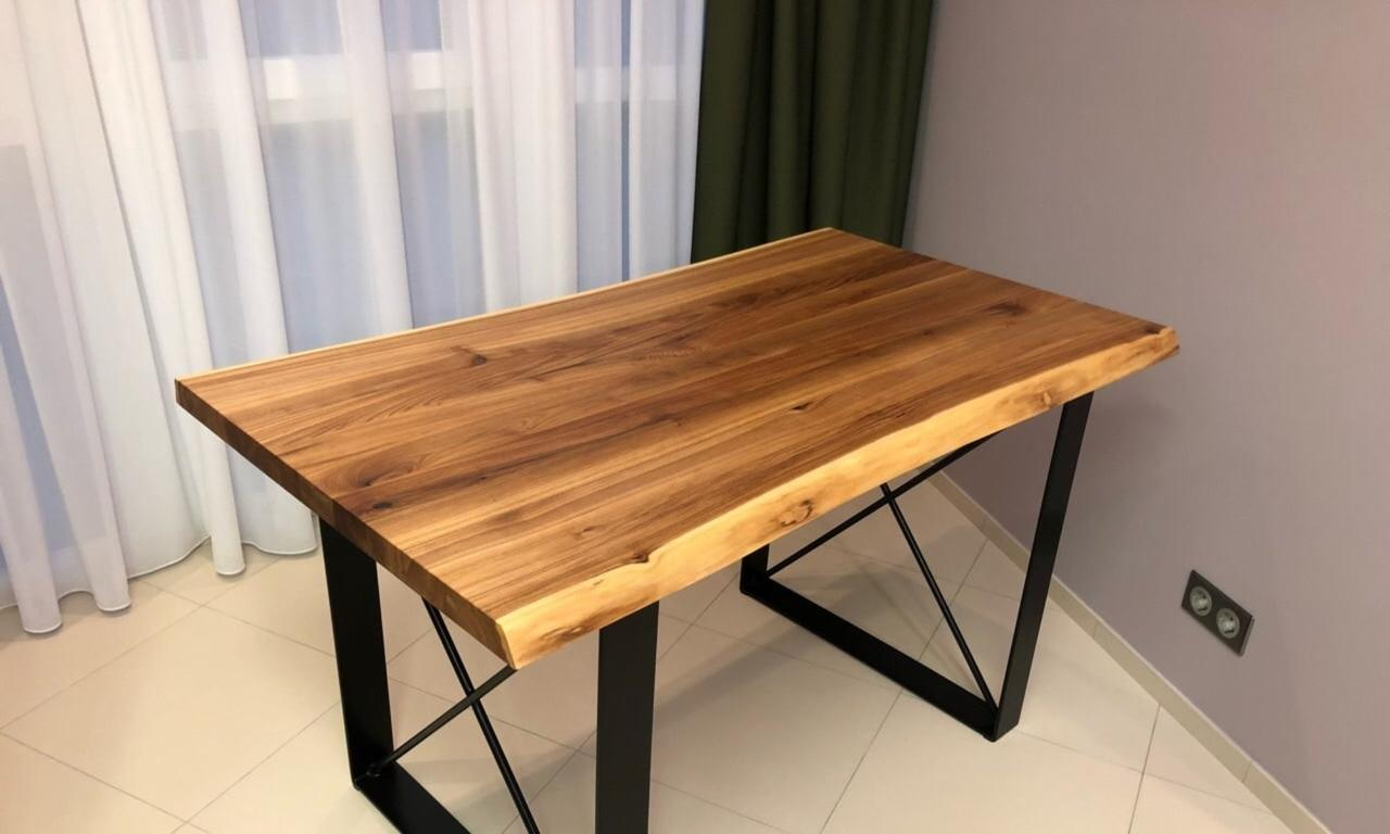 """Ресторанний стіл """"Гриллз"""" з натурального дерева"""
