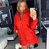 Женская куртка- пуховик «GIV» в расцветках. ОЛ-8-1118, фото 2