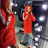 Женская куртка- пуховик «GIV» в расцветках. ОЛ-8-1118, фото 3